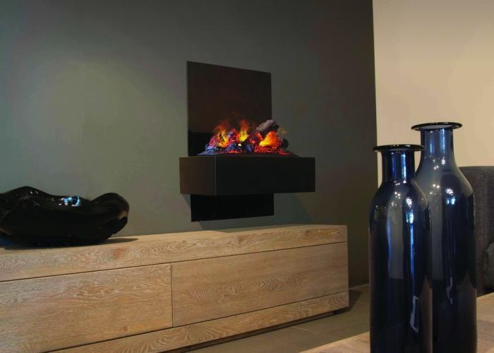 Mueble Para Chimenea Electrica. Mueble Modular De Pared Composable ...