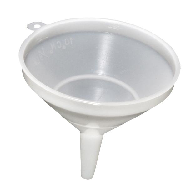 Embudo Plastico C//Anilla 1//8 L 10 Cm