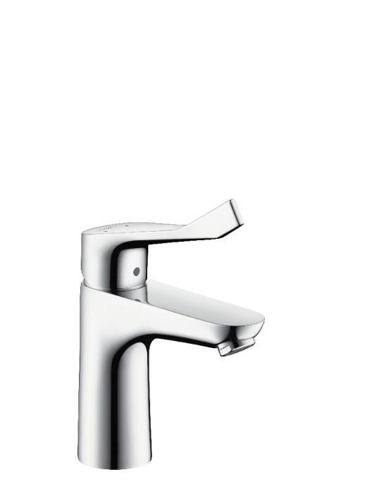 31911000 HG FOCUS 100 CARE SINGLE LEVER BASIN MIXER 100 WITH POPUP