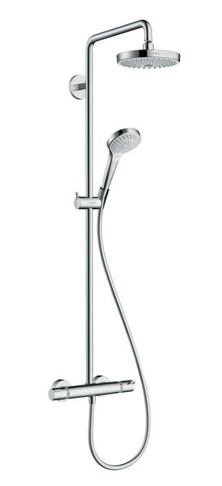 HG27253400 HG CROMA SELECT S 180 SHOWERPIPE BL/CR.